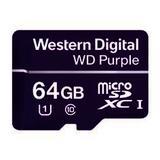 WDD064G1P0A, paměťová karta MicroSDXC 64GB, WD Purple