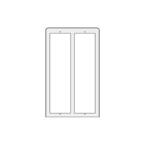 PL86 - stříška proti dešti 3x2moduly, Profilo