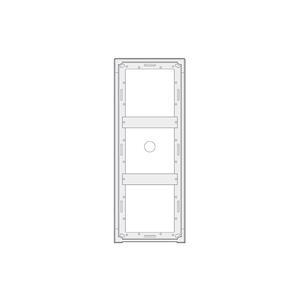 MA93 - povrchová montážní krabička 3 moduly