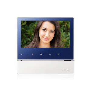 """CDV-70H modrý - verze 230Vac - videotelefon 7"""", CVBS, handsfree, 1 vst. - 1"""