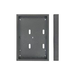 4FF 090 86.2 - krabice VNO 6 modulů, KARAT, stříbrná
