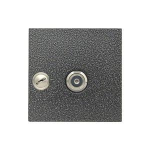 4FN 231 26.2/M - RAK DEK KARAT s OPJ, dotyk. pl., se Z, USB, stříbr.