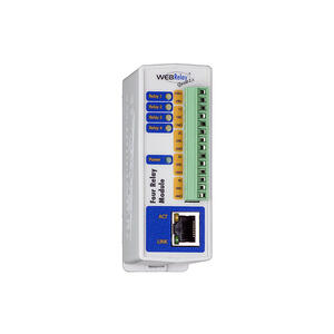 9137411E - IP relé čtyři výstupy – externí, PoE