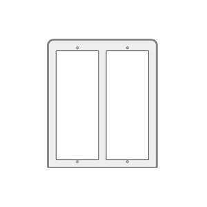 PL84 - stříška proti dešti 2x2moduly, Profilo