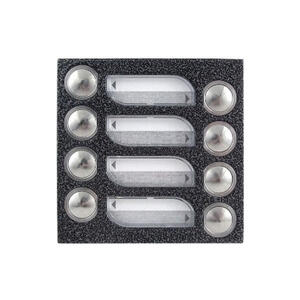 4FN 230 88.2 - modul 8 tlač. TT KARAT, 4+n, stříbr.