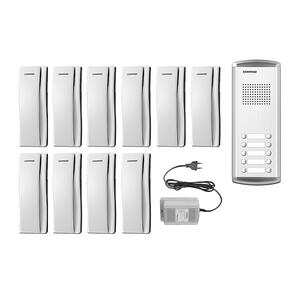 DR-10AM/DP-SS/RF-1A - sada dom. telefonů pro 10 uživ., systém 4+n - 1