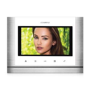 """CDV-70M bílý - verze 230Vac - videotelefon 7"""", CVBS, handsfree, 2 vst. - 1"""