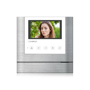 """CDV-43M bílý - verze 230Vac - videotelefon 4,3"""", CVBS, handsfree, 2 vst. - 1"""