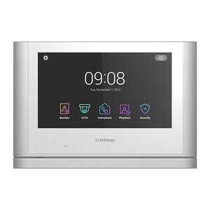 """CDV-1024MAD bílý - verze 17-30Vdc - videotelefon 10"""", Full HD, dotyk., paměť"""
