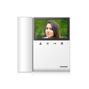 """CDV-43KD2 bílý - verze 17-30Vdc - videotelefon 4,3"""", CVBS, se sluch., 2 vst. - 1"""