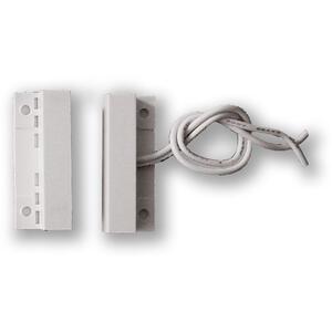 FM-106 - bílá - povrchový, samolepící - 2vodič