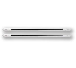 DWB 4-105 - bílá - 4 paprsky, 105cm, pár