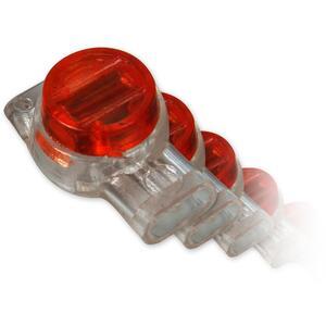 AC-4-balení 100ks - zařezávací spojka pro 3 dráty - 1