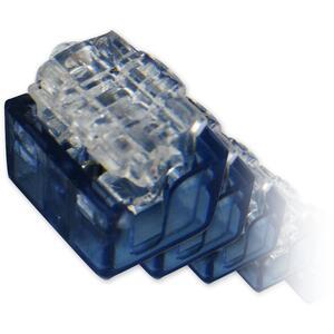 AC-2+1-balení 100ks - zařezávací spojka pro 2+1 drát - 1
