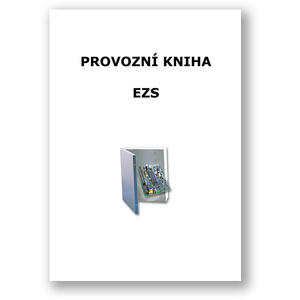 Provozní kniha EZS - tištěný formát A4 cca 20 stran - 1
