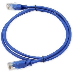 PC-201 C5E UTP/1M - modrá - propojovací (patch) kabel