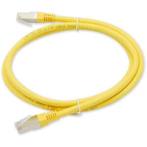 PC-802 C6 FTP/2M - žlutá - propojovací (patch) kabel