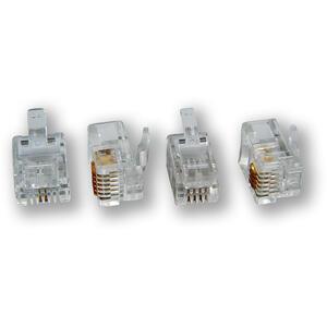 MP-092 T-6P2C - konektor, 6P2C, C3 telefonní