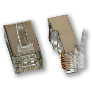 MP-030 C5E/S - konektor, 8P8C, C5E stíněný