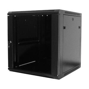 WM.6409.901 - nástěnný, složený, 9U, 600 x 450, sklo - 1
