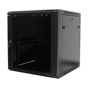 WM.6618.901 - nástěnný, složený, 18U, 600 x 600, sklo - 1