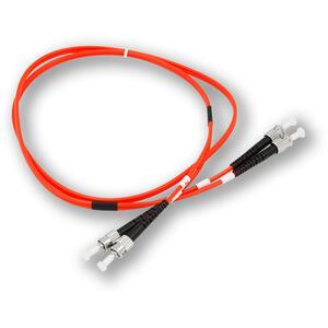 OPC-001 ST MM 50/125 1M - patch kabel, ST-ST, duplex, MM, 50/125, 1 m