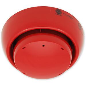 PL 3300 SE červená - plochá siréna s izolátorem