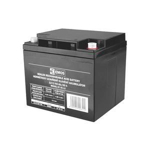Akumulátor 12V / 40Ah, rozměr: DxŠxV = 197x165x170 mm