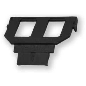 WO-058 empty ABB 2P - maska pro 2 KJ do krytu WO-050 - 1