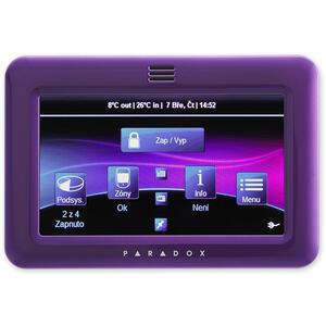 TM50 - fialová - barevná grafická dotyková klávesnice