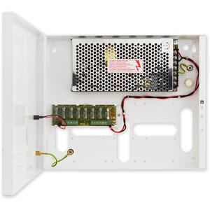 PS-BOX-12V8A8x1A - kamerový zdroj 12V/8A/8x1A v boxu - 1