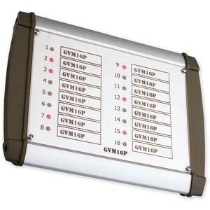GVM16PLED - signalizační tablo v krytu 16 LED