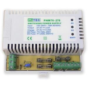 PS-DIN-27V2,5A7Ah - pomocný zdroj