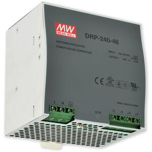 PS-DIN 240-48 - spínaný zdroj 48V=/3,5A na DIN, ochrany