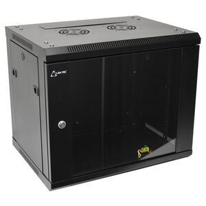 WS.6409.901 - nástěnný, rozložený, 9U, 600 x 450, sklo - 1