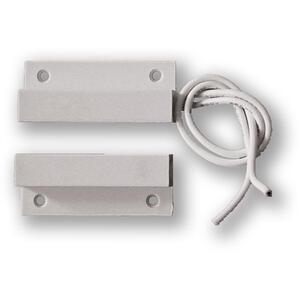 FM-102.3 - povrchový, samolepící - 2vodič, bílý, kabel 3 metry