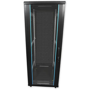 PSP.6827 - stojanový, 27U, 600 x 800, sklo/plech - 1