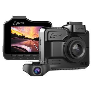 Kamera K4 DUAL GPS - ULTRA HD kamera do auta - 1