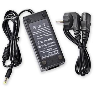 PS-DT/12V/5A + nap. kabel 230VAC/10A - síťový zdroj pro CCTV i jiné využití a šňůra
