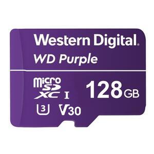 WDD128G1P0A - paměťová karta MicroSDXC 128GB, WD Purple