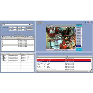 Axxon Intellect auto server - freeflow RZ vozů v systému Axxon Intellect