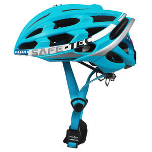 TYR 2 Turquoise S - chytrá helma na kolo - 1