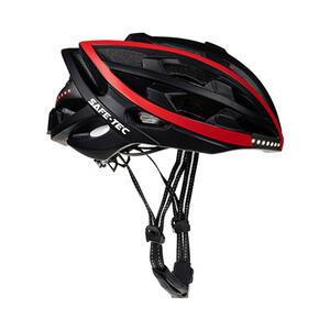 TYR  Black red XL - chytrá helma na kolo - 1