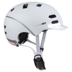 SK8  White M - chytrá helma skate a inline brusle - 1