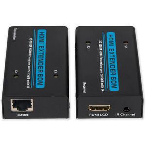 RX-505A - HDMI Extender, 1080p, 60m, UTP cat.5e/6, aktiv.