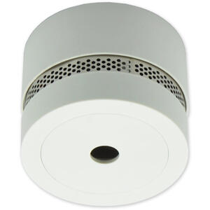 SDA-20-S - světle šedá - autonomní opticko-kouřový se sirénou - 1