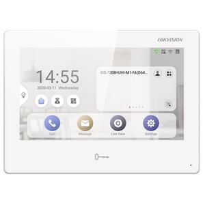 "DS-KH9310-WTE1 - IP videotelefon 7"", LAN, WiFi, Android, bílý - 1"