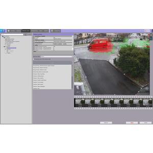 Axxon NEXT Professional - rozpoznání SPZ značek - v kameře reg. značek vozů, otvírání brány SW-ANP-ILP-RTL