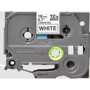 TZE-241 - kazeta s páskou - bílá / černá, 18 mm, 8 m - 1