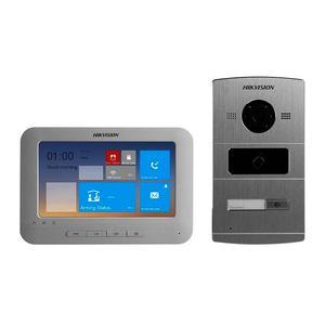 DS-KIS601, kit IP videotelefonu DS-KH6310-WL a dveřní stanice DS-KV8102-IM, RS-485, alarm, Hikvision